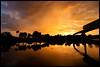 Epcot - Explosion in the Sky (Silver1SWA (Ryan Pastorino)) Tags: world sunset canon epcot disney monorail walt canon5dmarkii