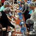 2012 NC Campuses Against Hunger conference attendees package over 10,000 meals for Stop Hunger Now.