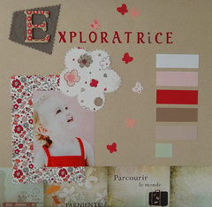 EXPLORATRICE Planche Thme (Christelle Kowalczyk) Tags: collection enfant printemps et exploratrice