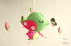Passarinhos (Mimos e Feltros) Tags: bird passarinho felt feltro decorao tecido mbile enfeite decoraoinfantil decoraobaby passarinhodefeltro decoraoemfeltro enfeiteparapendurar decoraoparabeb