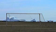 Greenland Dream #21 (Bakis is Back) Tags: ice football goal greenland iceberg artic