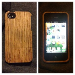 Oak Wood iPhone case is Sustainability (Greenlivingguy) Tags: greenliving greenbusiness greenlivingnews