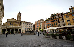 """Santa Maria in Trastevere • <a style=""""font-size:0.8em;"""" href=""""http://www.flickr.com/photos/89679026@N00/8085166009/"""" target=""""_blank"""">View on Flickr</a>"""
