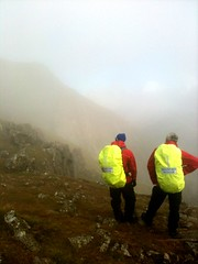 Sunny cloud looking back to High Stile (Jonathan Bateman) Tags: buttermere mountainrescue scarrescue srmrt