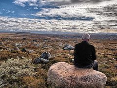 silence (Soenke HH) Tags: travel sky moon man nature beautiful norway stone clouds landscape norge rocks loneliness stones urlaub natur north skandinavien norwegen himmel wolken olympus formation journey silence vegetation fascination unreal blau scandinavia landschaft stein einsamkeit hdr highdynamicrange reise e5 felsen unwirklich schn sprachlos dramaticcolor endlosigkeit swd1260 snshdr hardangerviddanationalpark