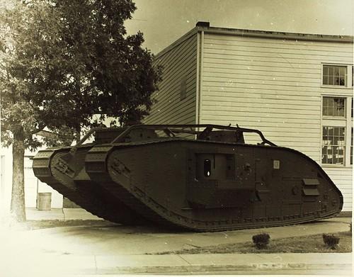 World War One Tank