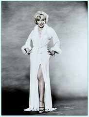 Marilyn Monroe (OFENA1) Tags: portrait legs blonde dressinggown