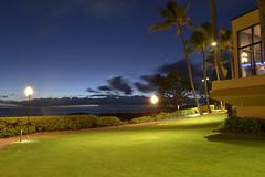 Kauai - Sheraton (brandonaldred) Tags: ocean travel sunset beach hawaii bay coast nikon long exposure kauai 1855mm nikkor f28 hanalei d3100