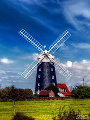 Burnham Overy Staithe Windmill (2) (dogmarten28) Tags: autumn england tower mill windmill sunshine village norfolk sails nationaltrust savory hamlet eastanglia ogee 1816 burnhamoverystaithe holidaylets tailwinded qualitystructuresppf dogmarten28 jamaicanpitchpine