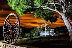 Villa el Romeral (Jose Casielles) Tags: color arbol noche cielo villa nocturna campo pino rueda yecla ruedadecarro josecasiellesfotgrafo algube estrellasnubesluz
