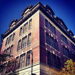 P.S. 3 - Greenwich Village, New York City (Sylvia Syracuse (Gothamiste) iPhone and Canon DSLR) Tags: nyc newyorkcity newyork architecture buildings square manhattan squareformat gotham newyorknewyork thebigapple newyorkscenes iphoneography instagramapp xproii uploaded:by=instagram bestof2012 gothamiste
