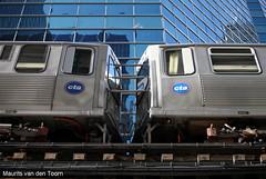The 'El' within reach (Maurits van den Toorn) Tags: chicago train cta metro loop zug theel el ubahn metropolitain theloop treinstel
