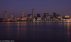 Night in the City (Liz Phillips Photography) Tags: city nightphotography night liverpool rivermersey