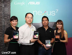 google tablet asus nexus7 (Photo: liewcf on Flickr)
