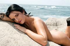 20120927_Mahaulepu_0087 (Kurt Chambers) Tags: usa beach nude model blueeyes naturallight location kauai poipu hi brunette mariah mahaulepu implied