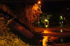 a wet night... (karpo65) Tags: autumn rain night finland a33 autumncolors jyvaskyla 2012 sonyalpha sonyalphadslr keljo tamronaf18200mm sonyalphaslta33