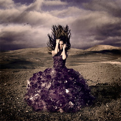 Attached to Earth (LauraBallesteros) Tags: cloud naturaleza mountain mountains texture textura nature stone clouds project dress overcast nubes nublado amethyst conceptual montaa hitomi nube montaas fineartphotography proyecto hairflip 52weeks maggietaylor hairmotion 52semanas brookeshaden smokostock lauraballesteros lindahitomi trinischultz attachedtoearth