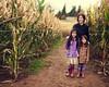 """Bizi Farms Pumpkin Patch & Harvest Festival 2012 - Corn Maze Portrait"" (peakbagger_trin) Tags: family fall kids 50mm nikon cornmaze brenizer nikond90 bokehpanorama visionqualitygroup"