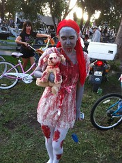 Zombie Bike Ride. Kelly (Roy Richard Llowarch) Tags: zombie fantasyfest keywest zombies thebull keywestfantasyfest thebullkeywest zombiebikeride thebullwhistlebar thebullwhistlebarkeywest fantasyfestkeywest keywestzombiebikeride