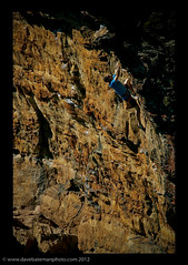 Jaws - Wavewall (Lenuge/ Dave Bateman) Tags: classic blackheath sydney australia bluemountains climbing jaws rockclimbing sportclimbing jeffporter centennialglen wavewall australianrockclimbing wwwdavebatemanphotocom australiansportclimbing