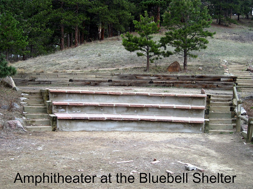 Photo - The amphitheater next to the Bluebell Shelter