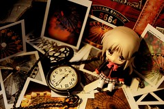 little traveller (silk-hat) Tags: wheel polaroid postcard ferris gsc kudryavka goodsmilecompany nendoroid littlebusters noumi