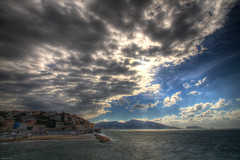Stormy Sunday 5 (marcovdz) Tags: sea mer seascape storm france clouds vent marseille wind fort corniche strong provence nuages paysage hdr tempte mistral 3xp roucasblanc plageduprophte