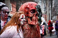 Big Head Zombie (Dan Dewan) Tags: ontario zombie candid ottawa streetphoto zombiewalk canoneos7d canonefs18135mmf3556is zombiewalk2012