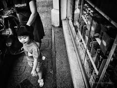 Follow Me (Meljoe San Diego) Tags: bw child grain streetphotography photowalk littlegirl ricoh grd4 meljoesandiego grdiv