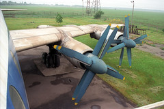 CCCP-76485 Tupolev TU-114 Aeroflot (pslg05896) Tags: ukraine tupolev aeroflot krivoyrog tu114 kryvyirih cccp76485
