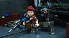 Borderlands 2 - Axton , The commando ([N]atsty) Tags: 2 man lego fig sabre minifig custom turret minifigure borderlands axton brickarms