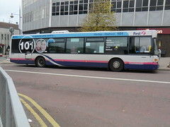 First PMT 65040 (chris 40142) Tags: first 101 scania stafford hanley pmt omnicity 65040 cn94ub yn06wmo
