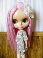 Alena-Rose pretty in pink