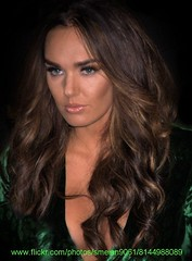 Tamara Ecclestone (iron_smyth48) Tags: red portrait woman white celebrity english film face television female hair carpet star model glamour eyes dress event premiere celeb