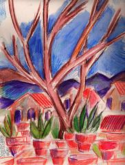 ARIZONA ON MY MIND (roberthuffstutter) Tags: style expressionism impressionism huffstutter watercolorsbyhuffstutter artmarketusa