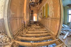 3 Floors Chateau Noisy (MGness / urbexery.com) Tags: urban abandoned eos decay fisheye miranda chateau exploration walimex decayed noisy urbex 600d