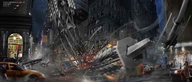 「蜘蛛人:驚奇再起」概念設計曝 光,揭露刪減畫面!~