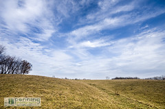 Rolling Pasture (MattPenning) Tags: blue trees winter sky white grass clouds pentax horizon sigma potd pasture k5 springfieldillinois skyclouds mattpenning kmount sigma1020mmf456exdc mattpenningcom penningphotography justpentax pentaxk5 sangamonvalleytrail