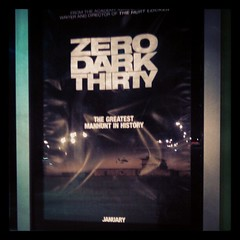 Zero Dark Thirty: This one felt important