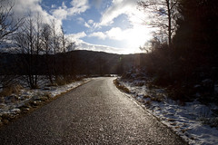 View along the C1068 (duncan_ireland) Tags: road scotland january loch inverness singletrack strathnairn inverarnie c1068