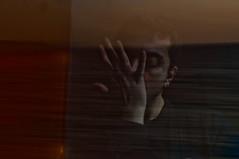 """     "" - Chronos eats his children (Vasilis Amir) Tags: sea portrait selfportrait man motion male moving doubleexposure move  mygearandme vasilisamir"