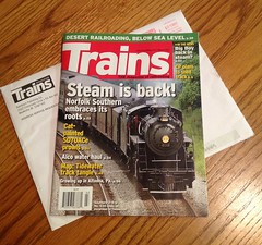 Pubished Cover Photo! (Allyson Praytor) Tags: chattanooga march published tennessee railway steam southern locomotive 630 excursion 280 norfolksouthern 2013 trainsmagazine tennesseevalleyrailroadmuseum 21stcenturysteam publishedcoverphoto allysonleighphotography
