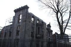 Smallpox Hospital ruins, Roosevelt Island, New York, NY (aadair4) Tags: rooseveltisland smallpoxhospital 1856 blackwellsisland jamesrenwickjr img4843