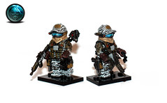 Lego Ghost Recon Future Soldier (Tuminio) Tags: soldier lego ghost future customized custom minifigure recon