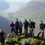 "<b>Lake District Venture on the Great Gable Route Near Napes Needle</b><br/> Nottingham Year, 2011-2012, photo by Elliot Drake<a href=""http://farm9.static.flickr.com/8332/8438000899_1cfff97a63_o.jpg"" title=""High res"">∝</a>"