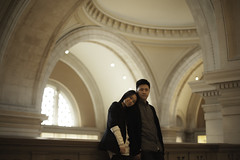 Vic & Chung Engagement Photoshoot in Metropolitan Museum, NYC (kwongman) Tags: new york nyc newyorkcity newyork museum photography engagement couple met metropolitanmuseum photogrphy