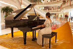 The Pianist (tuux1598g) Tags: woman beauty person piano   pianist
