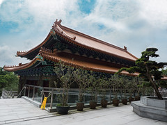 Monastery Po Lin (Vladislav Ihl) Tags: architektur china denkmal hongkong jahreszeiten motive sommer stadt tag tageszeit