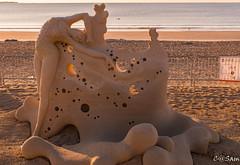 SSS_0202 (Sam 8899) Tags: sand sculpture beach sunrise morning light sky sea color