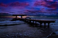 sunset-above-black-sea (bcalin26) Tags: sea black blue bluesky bridge sunset sky nikon landscape clouds travelphotography holidays water